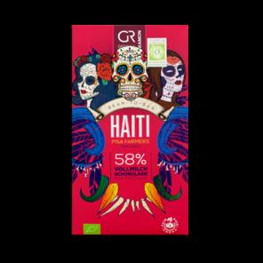 GR 58% mléčná čokoláda Haiti BIO 50 g