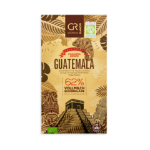 GR 62% mléčná čokoláda Guatemala BIO 50 g