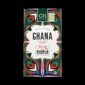 GR 75% hořká čokoláda Ghana 50 g