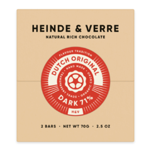 Heinde & Verre 71% hořká čokoláda Dutch Original Dark 70 g