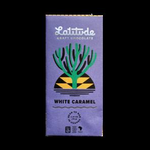 Latitude 40% bílá čokoláda WHITE CARAMEL 70 g