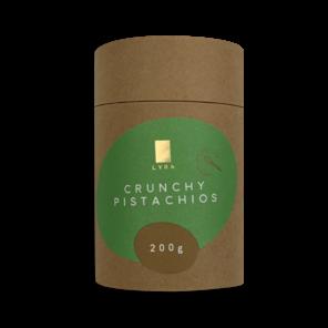 LYRA CRUNCHY PISTACHIOS - pistácie v mléčné čokoládě 200g