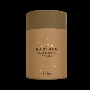 LYRA MAXIMUM hazelnuts caramel - lískové ořechy v karamelu a nugátu 200g