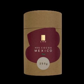 LYRA MEXICO 40% horká čokoláda 250g