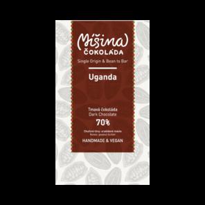 Míšina čokoláda 70% hořká čokoláda - Uganda 50 g