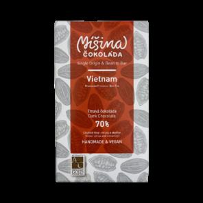 Míšina čokoláda 70% hořká čokoláda - Vietnam 50 g