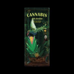 Mulaté 70% hořká čokoláda - Cannabis BIO 80 g