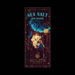 Mulaté 70% hořká čokoláda - mořská sůl BIO 80 g
