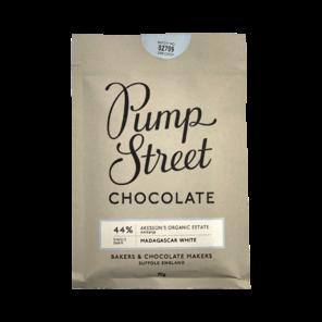 Pump Street 44% bílá čokoláda Madagaskar 70 g