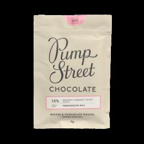 Pump Street 58% mléčná čokoláda Madagaskar 70 g