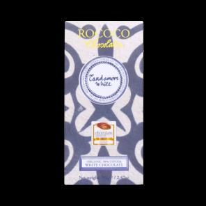 Rococo 30% bílá čokoláda - kardamom Bio 70g