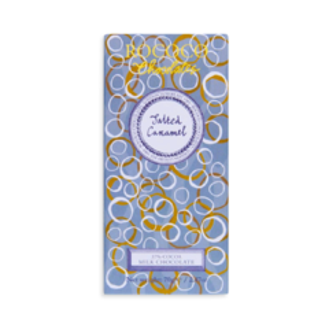 Rococo 37% mléčná čokoláda se slaným karamelem 70g