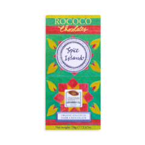 Rococo 65% hořká čokoláda - karibské koření Bio 70g