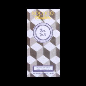Rococo 65% hořká čokoláda - mořská sůl BIO 70 g