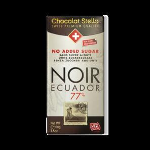 Stella 77% hoř. čokol. bez přid. cukru - Ekvádor 100 g