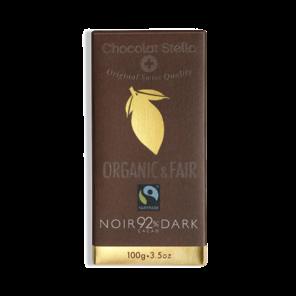 Stella 92% hořká čokoláda BIO 100 g