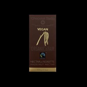 Stella EXP Vegan hořká čokoláda - lískooříškový nektar Bio 100g