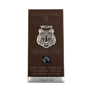 Stella VEGAN 59% hořká čokoláda Tiger Nuts BIO 100 g