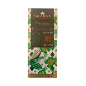Valrhona MANJARI 64% hořká čokoláda 70 g