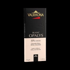 Valrhona OPALYS 33% bílá čokoláda 70 g