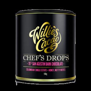Willie's Cacao 70% hořké čokoládové čočky San Agustin 150 g