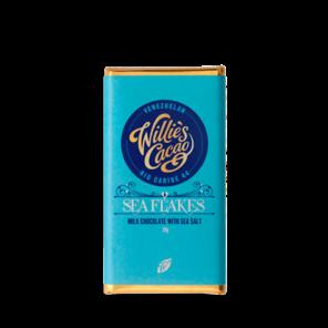Willie's Cacao EXP BABY Sea Flakes mléčná čokoláda 26 g