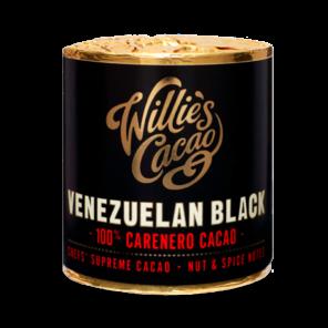 Willie's Cacao EXP Venezuelan Black, 100% Carenero čokoládový váleček 180g