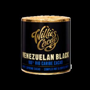 Willie's Cacao EXP Venezuelan Black, 100% Rio Caribe čokoládový váleček 180g