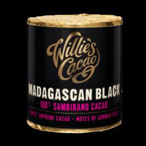 Willie's Cacao Madagascan Black, 100% Sambirano čokoládový váleček 180 g