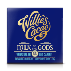 Willie's Cacao Milk of the Gods Rio Caribe 44% mléčná čokoláda 50 g