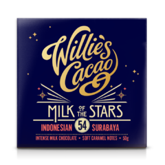 Willie's Cacao Milk of the Stars Surabaya 54% mléčná čokoláda 50 g
