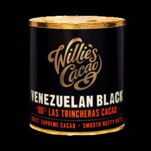 Willie's Cacao Venezuelan Black, 100% Las Trincheras čokoládový váleček 180g