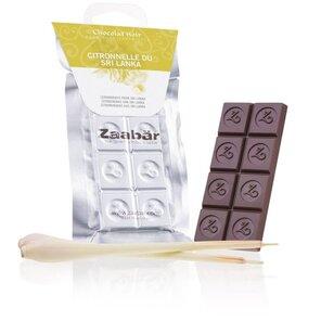 Zaabär hořká čokoláda - citronová tráva ze Srí Lanky 35g