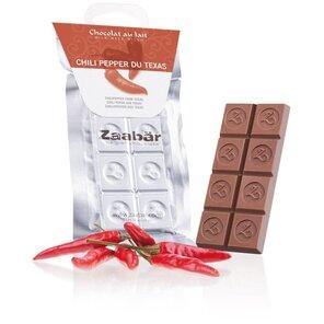Zaabär mléčná čokoláda - chilli z Texasu 35g