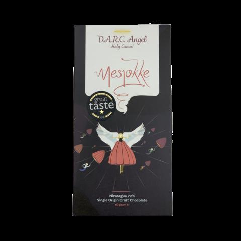 Mesjokke 72% hořká čokoláda D.A.R.C. Angel Nicaragua 80 g